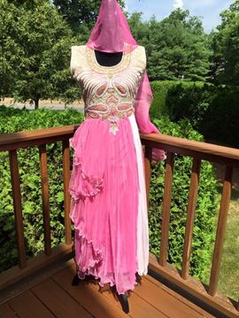 Picture of Pink Anarkali Suite