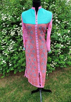 Picture of Pink Georgette kurta