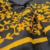 Picture of Black cotton saree